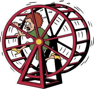 Content Repurposing Hamster Wheel